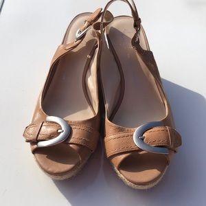 Franco Sarto Artist's Collection A-Kendra wedge